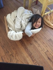 no bed, no mattress, no problem. #boxesarethebesttoys!