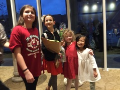 Our sweet friend was in the Nutcracker so we went to support her and Em picked out the sweetest flowers to give her, we had a blast arranging them, too!