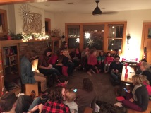 Got to attend a Christmas sing along with our friends, it was especially sweet this year because our family has been learning Noel Nouvalet and it meant so much for Emmy to see other families sing together.